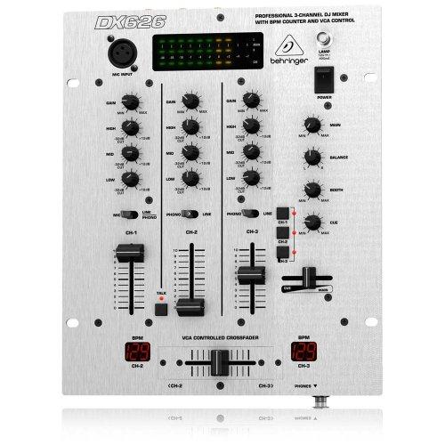 Behringer Dx626 Dj Mixer (3 Channels)