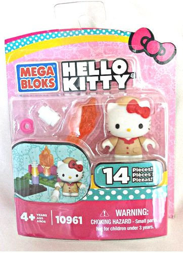 Mega Bloks Hello Kitty Camp Fire Playset 10961