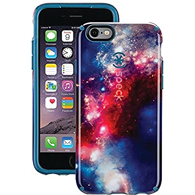 Speck Products CandyShell Inked Case for iPhone 6/6S - Aqua Floral Blue/UltraViolet Purple from Speculative Product Design, LLC
