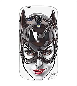 PrintDhaba BlackCat D-5150 Back Case Cover for SAMSUNG GALAXY S3 MINI (Multi-Coloured)