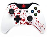 """Blood Splatter"" Xbox One Modded Controller 40 Mods for COD Ghosts Quickscope, Jitter, Drop Shot, Auto Aim, Jump Shot, Auto Sprint, Fast Reload, Much More"