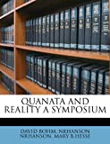 QUANATA AND REALITY A SYMPOSIUM (1245190857) by BOHM, DAVID