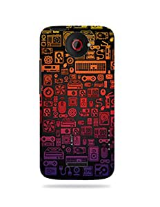 alDivo Premium Quality Printed Mobile Back Cover For HTC One X / HTC One X Back Case Cover (MKD141)