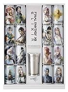 FINAL FANTASY XIII ELIXIR PREMIUM COMPLETE BOX 化粧箱×1箱セット(エリクサー16缶+タンブラー+プレート)
