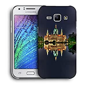 Snoogg Abstract Palace Designer Protective Back Case Cover For Samsung Galaxy J1