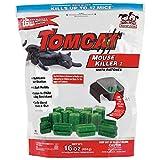 Tomcat Mouse Killer I (Kid and Dog Resistant Refillable Mouse Bait Station, Bag w/ 16 Bait Blocks)