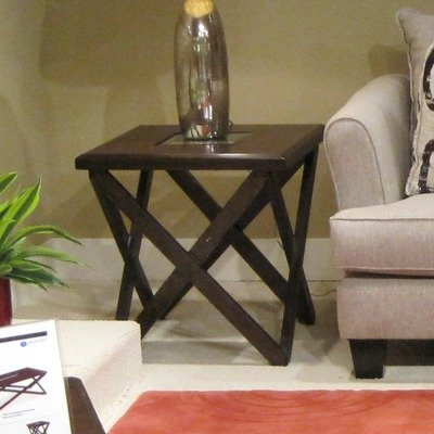 Cheap Magnussen Furniture Hennerly Cherry Square End Table (T1897-01)