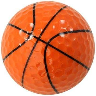 GBM Golf Sport Novelty 3 Ball Sleeve, Basketball