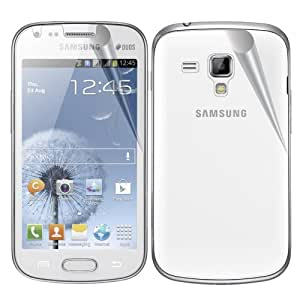 Samsung GALAXY S DUOS S7562 XtremeGUARD FULL BODY Screen Protector Front+Back (Ultra CLEAR)