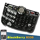 BLACKBERRY CURVE 8330 QWERTY KEYBOARD KEYPAD+TRACKBALL