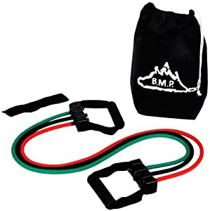 Black Mountain Products New Strong Man Set of 3 Resistance Bands