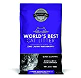 Worlds Best Cat Litter Cat Lavender Scented Multiple Cat Clumping Formula, 14-Pound Bag