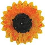 Dimensions Felt Embellishments, Sunflower