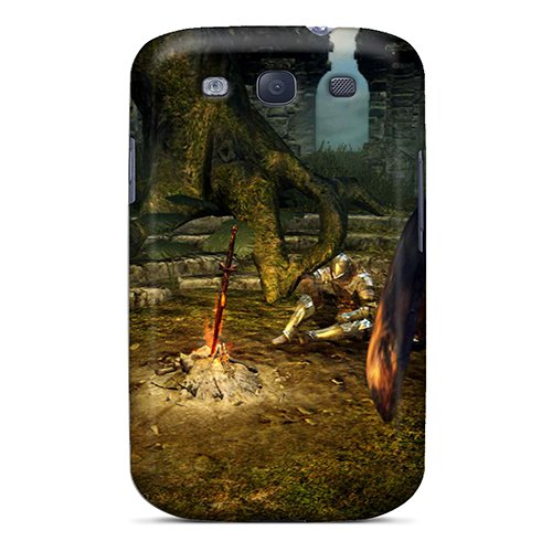 New Fashionable Oscarapaz Pce15152Huum Cover Case Specially Made For Galaxy S3(Dark Souls Bonfire)