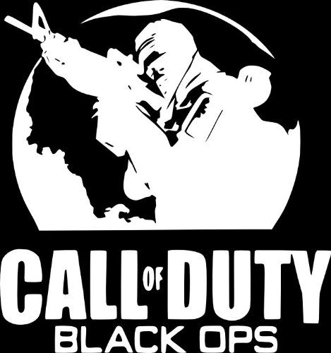 Jp Vinyl Design Call Of Duty Black Ops Vinyl Decal 18 White