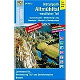 UK50-23 Naturpark Altmühltal, westlicher Teil: Gunzenhausen, Weißenburg i.Bay., Monheim, Altmühl-u. Brombachsee...