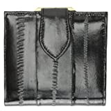French Frame EEL Skin Leather Ladies Wallet #E573