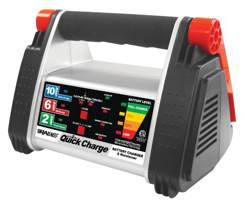 Rally 7531 10 Amp Quick Charge 12 Volt Battery Charger And