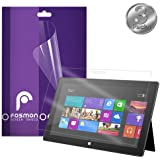 Fosmon Crystal Clear Screen Protector Shield for Microsoft Surface Windows RT - 3 pack