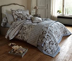 laura ashley mellors celeste housse de couette 155 x 220 cm fermeture clair. Black Bedroom Furniture Sets. Home Design Ideas