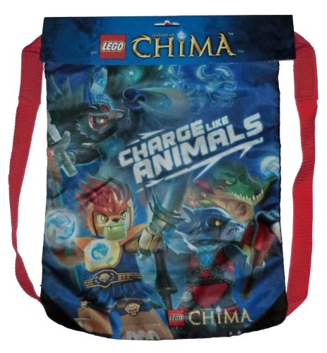 Lego Legends of Chima Cinch Sack Tote - Backsack - 1