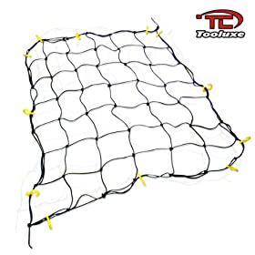 Tooluxe 50969L 36-Inch x 60-Inch Cargo Net with 16 Hooks