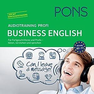 PONS Audiotraining Profi Business - English Hörbuch