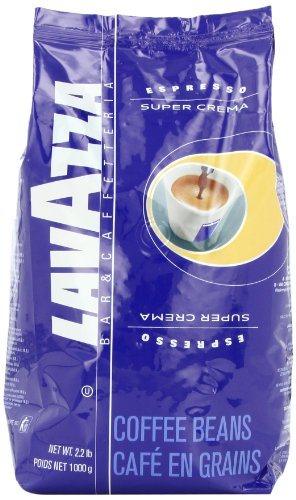 Buy Lavazza Super Crema Espresso Whole Bean Coffee, 2.2-Pound Bag