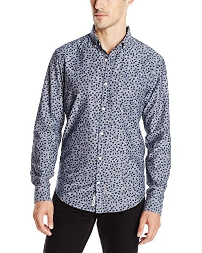 Original Penguin Men's Ivy Leaf Print Shirt