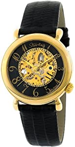 Stuhrling Original Women's 108.123527 Lifestyle 'Wall Street' Skeleton Automatic Watch
