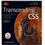Transcending CSS - Studentenausgabe: Neue kreative Spielrume im Webdesign (DPI Grafik)von &#34;Andy Clarke&#34;