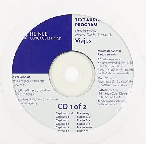 Audio CD-ROM, Stand Alone for Hershberger/Navey-Davis/Borrás A.'s Viajes: Introduccion al espanol, Brief Edition