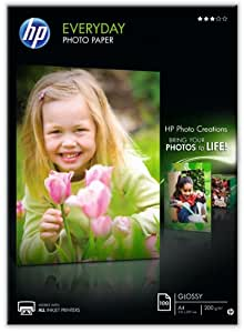 HP Everyday Photo paper - Glossy photo paper - A4 (210 x 297 mm) 200 g/m2 - 100 sheet(s)