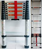DP DESIGN® PROFESSIONAL TELESCOPIC EXTENDING LADDER 3.2 m