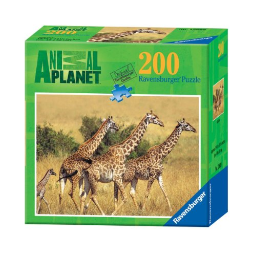Ravensburger Animal Planet: Giraffes - 200 Pieces Puzzle