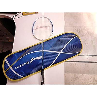 Li-Ning SS-98 III Super Carbon Fiber Badminton Racquet, Size S2 (Blue/White)