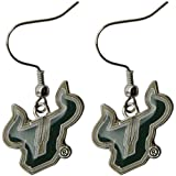 South Florida Bulls - NCAA Team Logo Dangler Earrings