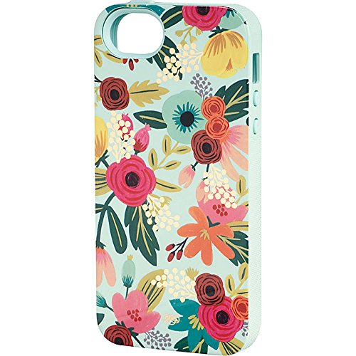 Rifle Paper Co - Mint Floral iPhone 5/5s Case - Hard Case with Rubber Inlay (Rifle Paper Co Iphone 5 Case compare prices)