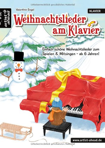 buch weihnachtslieder am klavier einfach sch ne. Black Bedroom Furniture Sets. Home Design Ideas