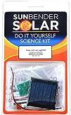 Sunbender Do-it-Yourself Solar LED Jar Light Kit  WHITE