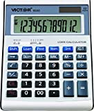 Victor Technology 6500 calculator - calculators (Desktop, Battery/Solar, Basic calculator, White, Buttons, AA)