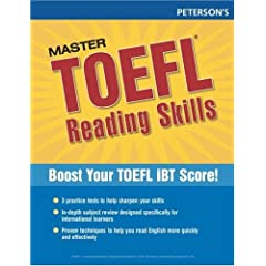 Master the TOEFL Reading Skills (Peterson's Master the TOEFL Reading Skills)
