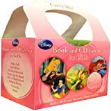 Disney Princess Books and CD Gift Set For Girls 8 Stories Collection (Tinker Bell, Snow White, The Little Mermaid, Beauty and the Beast, Alice in Wonderland, Sleeping Beauty, Cinderella, Bambi)