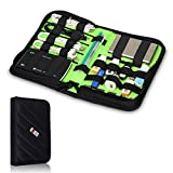 BUBM Portable Universal Electronics Accessories Travel Organizer / Hard Drive Case / Cable Organiser / Baby Healthcare & Grooming Kit-3 Size (Medium)
