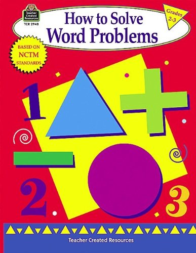 How to Solve Word Problems, Grades 2-3 Book - 1