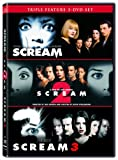 Scream 1-3 [DVD] [Region 1] [US Import] [NTSC]
