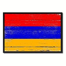Armenia National Shabby Chic Flag Art Canvas Print Wall Home Décor Interior Design Souvenir Gift Ideas