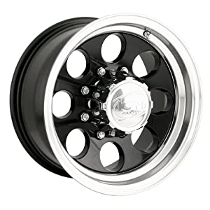 """Ion Alloy 171 Black Wheel with Machined Lip (16x8""""/5x114.3mm)"""