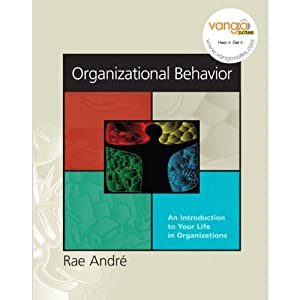 VangoNotes for Organizational Behavior: An Introduction to Your Life in Organizations, 1/e | [Rae Andre]