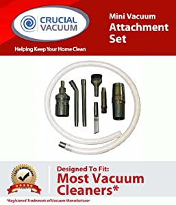 Crucial Vacuum Mini Micro Tool Attachment Set Fits ALL Vacuum Cleaners; Perfect for Hard-To-Reach Areas - Office Equipment, Computers, Car Deta at Sears.com